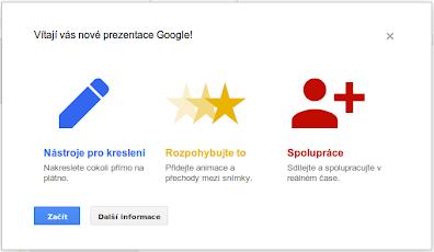 Google Prezentace